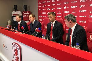 Jonathan Woodgate held his first press conference as Middlesbrough manager on Friday.