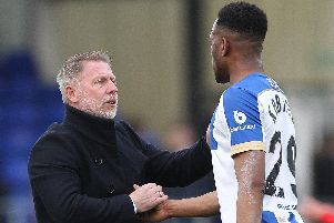 Hartlepool manager Craig Hignett will be hopeful of signing another striker after already securing a permanent move for Nicke Kabamba.