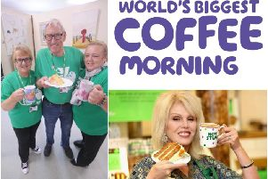 Fancy a nice cup of tea and a slice of cake? These are all the Macmillan Coffee Mornings being held in Wakefield this month.