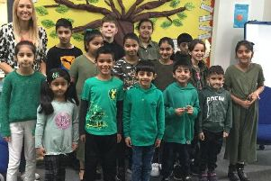 The students on their Just One Tree non-uniform day.