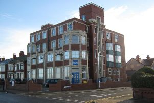 Preparation work for the demolition of the Marine View apartments building in Fleetwood is now under way.