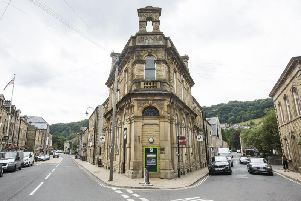 Plans to turn Hebden Bridge bank in apartments and other applications.