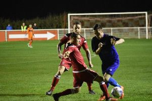 Action from the draw between Whitchurch Alport and Squires Gate Picture: ALBERT COOPER