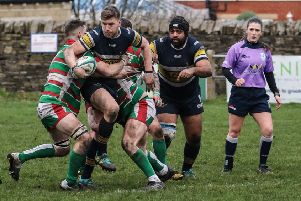 Old Crossleyans v Keighley'Iain Davies
