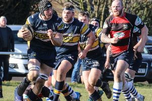 Old Crossleyans v. Pontefract'Tony Oxley and Roland Marki