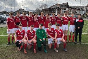 Calderdale Schools U15 beat Aston and Erdington Schools U15 in the quarter final of the ESFA National cup on Saturday.