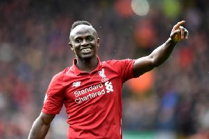Liverpool striker Sadio Mane, who is wanted by Real Madrid, according to the rumour mill. (PHOTO BY: Michael Regan/Getty Images)