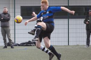 Shelf Utd v Sowerby Bridge'Shelf's Harry Talbot