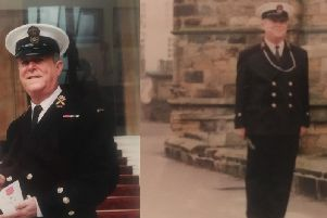 Former Commanding Officer, Chief Petty Officer Tony Harrison MBE