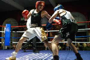 Halifax BC show'Rhys Sanasy v Dan Barr'Picture: Bruce Fitzgerald Photography