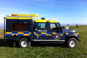 One of the South Shields Volunteer Life Brigade's vehicles.