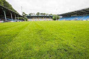 New pitch at The MBI Shay Stadium.