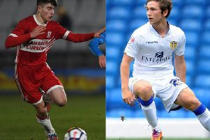 Boro boss John Deacey is hoping to snap up Kian Spence (left) and Chris Dawson