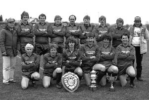 A team of winners in 1986.