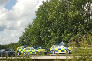 Police have arrested four occupants of a Nissan Micra after a serious incident in Kirkham.