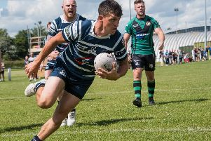 Ian Jackson, who scored two tries for Featherstone Lions. Picture: Jonathan Buck
