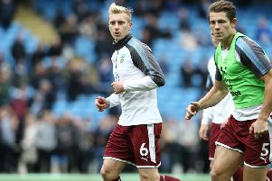 Ben Mee and James Tarkowski