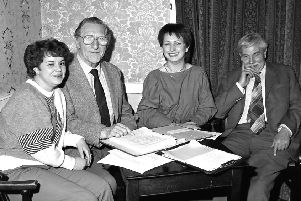 A meeting in Market Weighton in 1986.