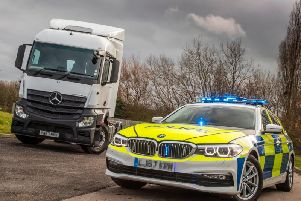A photo of the HGV supercab