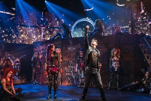 We Will Rock You, guaranteed to blow your mind, this musical phenomenon is not to be missed. Photo: Johan Persson