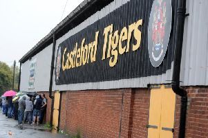 Castleford Tigers ground.