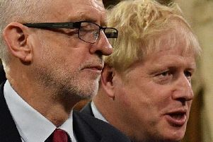 Labour leader Jeremy Corbyn and Conservative leader Boris Johnson. Photo: PA
