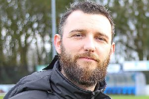 Frickley Athletic assistant manager Kyle O'Reilly.