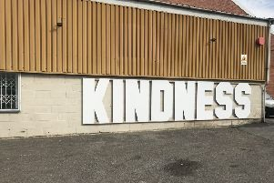 The Kindness sharehouse on Denby Dale Road opened this morning, September 17, 2018.