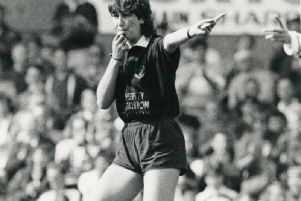 Julia Lee was the first woman to referee rugby league.