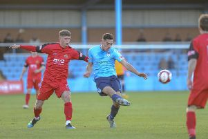 Ossett United in action