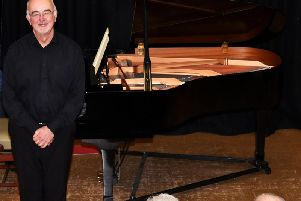 Pianist Martin Roscoe played to a full house last Wednesday in Clitheroe. (s)