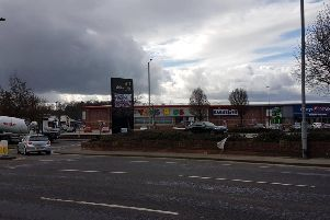 Albion Mills retail park, home of the old Toys 'R' us building.