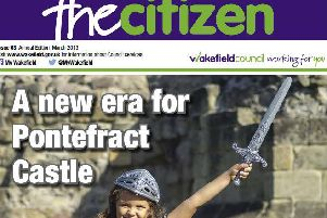 The Citizen is published every three months by the council.