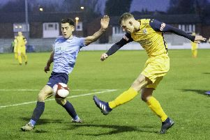 Tyler Walton, one of the players to have left Frickley Athletic.