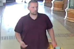 Do you recognise this man? Police would like to speak to him.