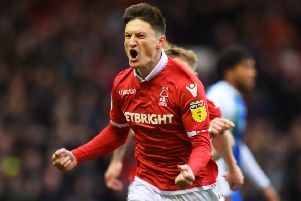 Star man Joe Lolley can still do more to help the Forest side, says manager Sabri Lamouchi. (PHOTO BY: Tony Marshall/Getty Images)
