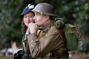 1940's weekend at Papplewick Pumping Station.