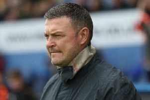 Mansfield Town Manager John Dempster.