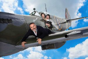 Grandpa's Great Escape Live is heading for Sheffield and Nottingham arenas.