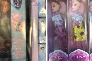 Dolls could contain toxic chemicals