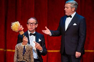 Jonty Stephens and Ian Ashpitel in Eric And Ern'Photo by Paul Coltas