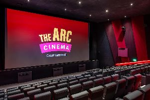 The Arc Cinema in Great Yarmouth, which was opened by the Byron's new owners in December.