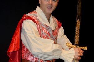 Snow White and The Seven Dwarfs panto coming to Mansfield Palace Theatre, pictured is Andrew Geater as the Prince