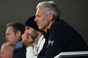 Peter Moores, head coach of Nottinghamshire. (PHOTO BY: Stu Forster/Getty Images)