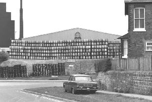Mansfield Brewery in 1987