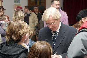 William Roache, who plays Ken Barlow in Coronation Street, is still an occasiona visitor to Michael House School, which was established by his grandfather.