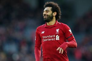 Juventus want Mohamed Salah for a huge �175m fee. (Photo by Alex Livesey/Getty Images)