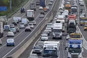 The M1 motorway