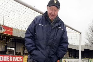 Eric Jackson, known for many years as 'Mr Hucknall Town', who has died, aged 84.