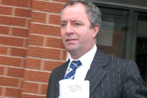 NMAC11-0359-13'Field Mill court case'Keith Haslam leaves Mansfield County Court.